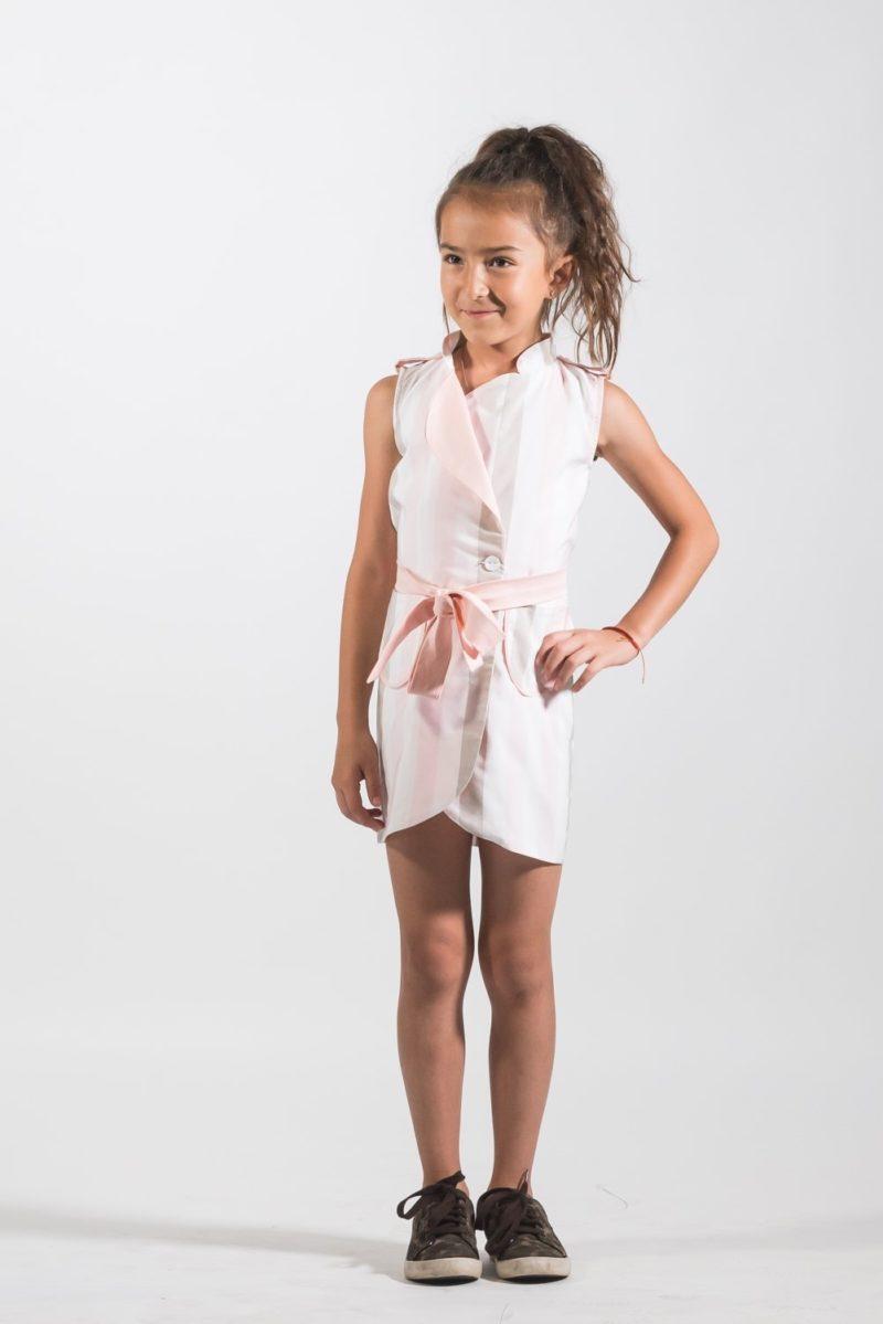 Rochii fete Rochie Pardesiu Strapes - haine pentru copii