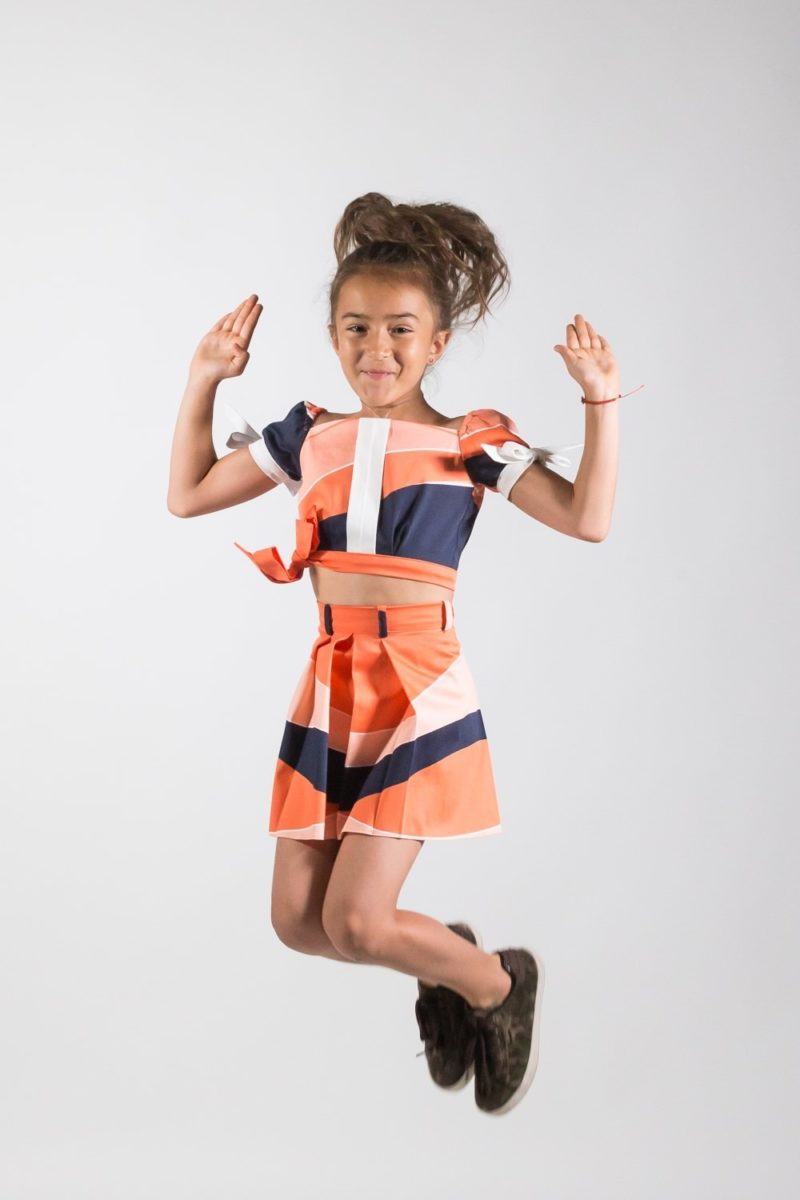 fustă fete Festival, haine elegante copii