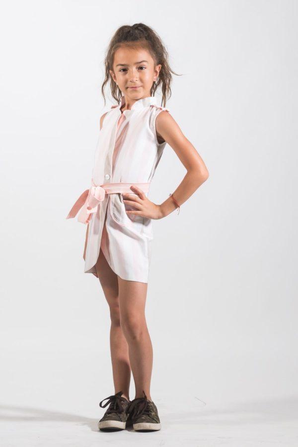 Rochii fete Rochie Pardesiu Strapes de la NOAR Kids