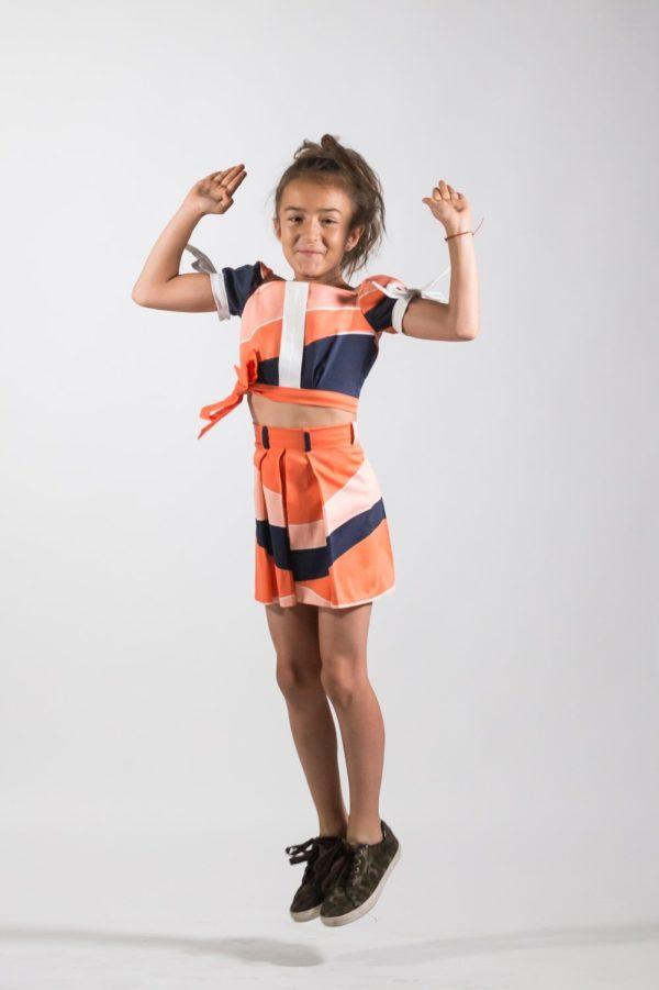 Fustă fete Festival - haine pentru copii