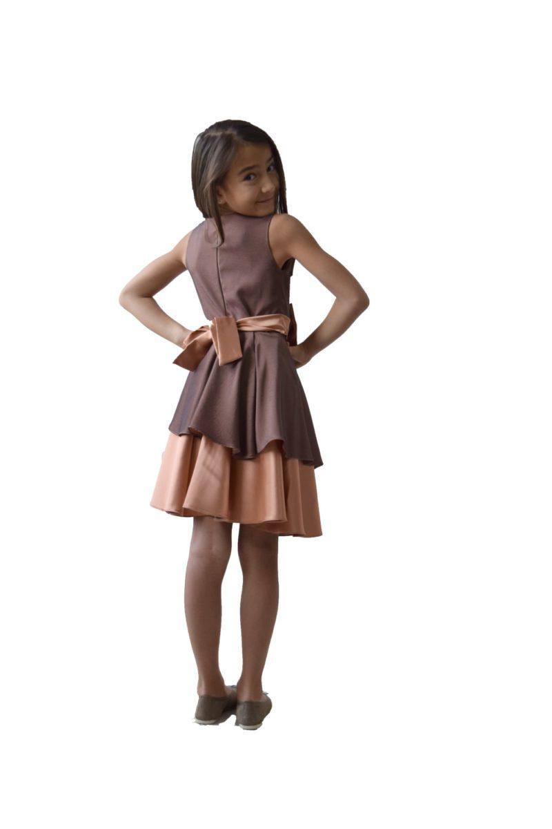 Rochie fete Craciun Magic cu bolero - haine copii Craciun 4